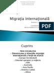 Migratia internationala