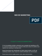 Mix de Marketing 1