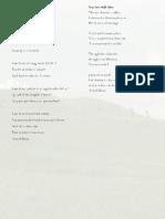 david final poetry