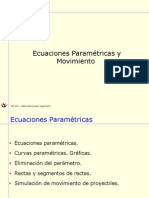 10-3 Ecuaciones Parametricas.ppt