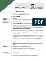 C.v. Ignacio Garcia Donoso