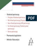Vibrational Spectroscopy 3