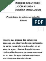 Unidad IV-3 Reacciones en Soluciones