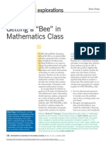 "Sharp Brian - Getting a ""Bee"" in a Math class (Henrikson)"