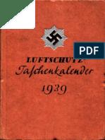 Reichsluftschutzbund - Luftschutz-Taschenkalender 1939