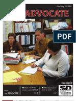 SDEA Advocate February 2009