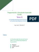 UTP PYSA T8 Transformada Discreta de Fourier