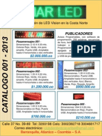 Catalogo de Ventas Omar Led