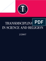 Transdisciplinarity in Science and Religion, No 2, 2007