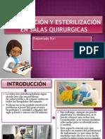 Desinfectantes y Esterilezantes en Salas Quirurgicas