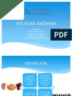 SOCIEDAD ANÓNIMA derecho societario.pptx