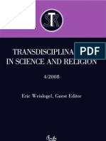 Transdisciplinarity in Science and Religion, No 4, 2008