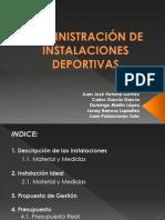 ADMINISTRACIÓN DE INSTALACIONES DEPORTIVAS