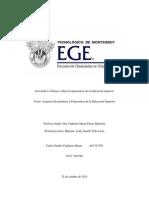 Importancia de la educación superior