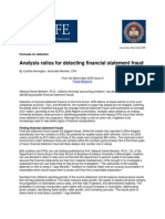 ACFE Article Formulas for Detection Analysis