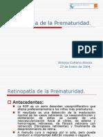 Retinopatia de La Prematuridad