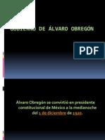 Gobierno Alvaro Obregon S.M. 2