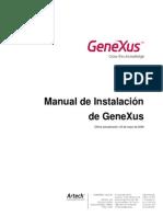 Genexus x Manual Instalacion Esp