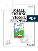 1243161 75960 Transport Canada Small Fishing Vessel Safety Manual Book