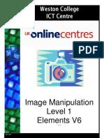 Image manipulation using Adobe Photoshop Elements 6