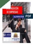 Organizacion de Empresas Guillermo Chumbe (1)