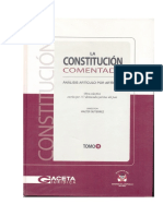 Constitución Comentada - Tomo 2