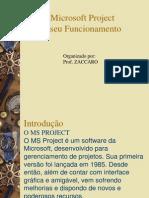 Microsoft project e seu funcionamento