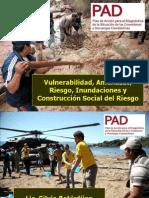 Vulnerabilidad Amenazas Riesgo Inundaciones y Construccion Social Del Riesgo