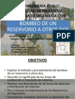 INGENIERÍA CIVIL bombeo de un reservorio a otros dos MONTANO español