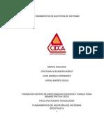 Auditoria CIDCA Entrega