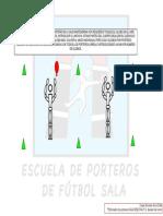 EJERCICIOS DESAFIOS PORTEROS