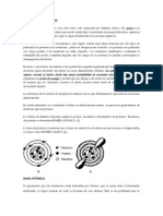 ÁTOMOS Y MOLÉCULAS composicion de porcentaje por peso (consulta de quimica)