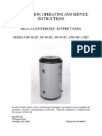 Hydronic Buffer Tank Install Manual 090811