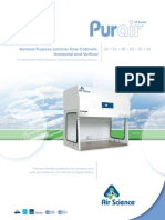 Air Science Purair Laminar Flow