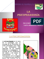 La psicopedagogía