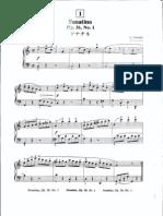 Suzuki Piano School Volume 3-#1 Sonatina Pt1