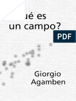 Agamben Giorgio Que Es Un Campo