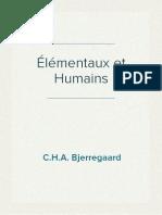 C.H.A. Bjerregaard - Élémentaux et Humains
