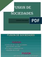 Fusion de Sociedad