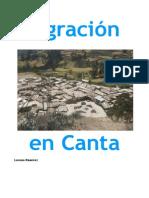 migración en Canta