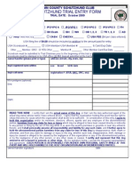 TCSC Trial Entry Form 2009