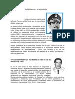 Biografias de Presidentes 1980 a La Fecha