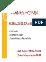 Cambio Planeado_modelo Kurt Lewin[1]