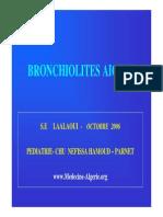 Bronchiolites Pr LAALAOUI