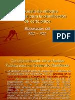 Propuesta de Enfoque Conceptual Para La Planificacion de Corto Plazo Tema 6