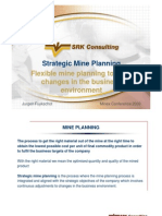 Strategic Mine Planning