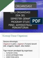 Organisasi 2009.ppt