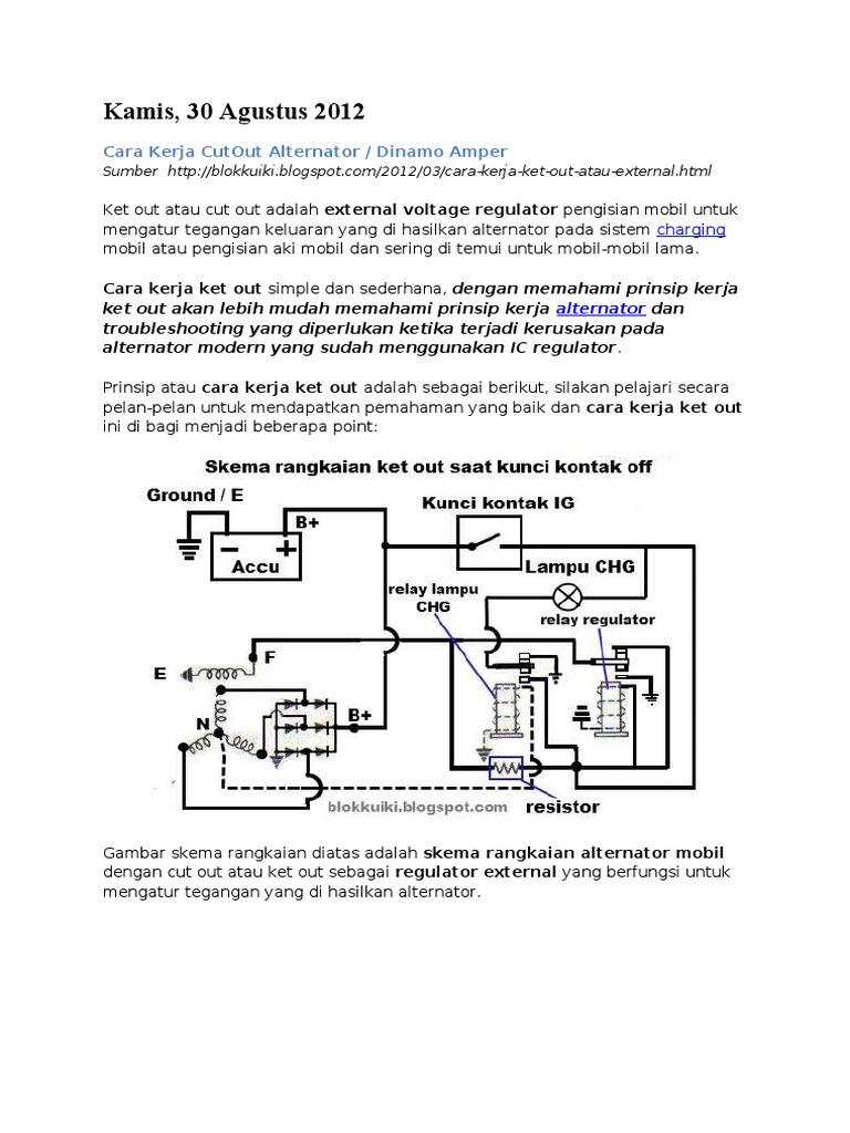 Nice Alternator Ic Regulator Diagram Pictures - Electrical Diagram ...