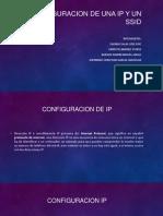 Configuracion IP y SSID