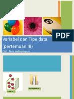 tipedatadanvariabel-120829032629-phpapp02